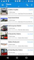 Screenshot of Dubai Metro