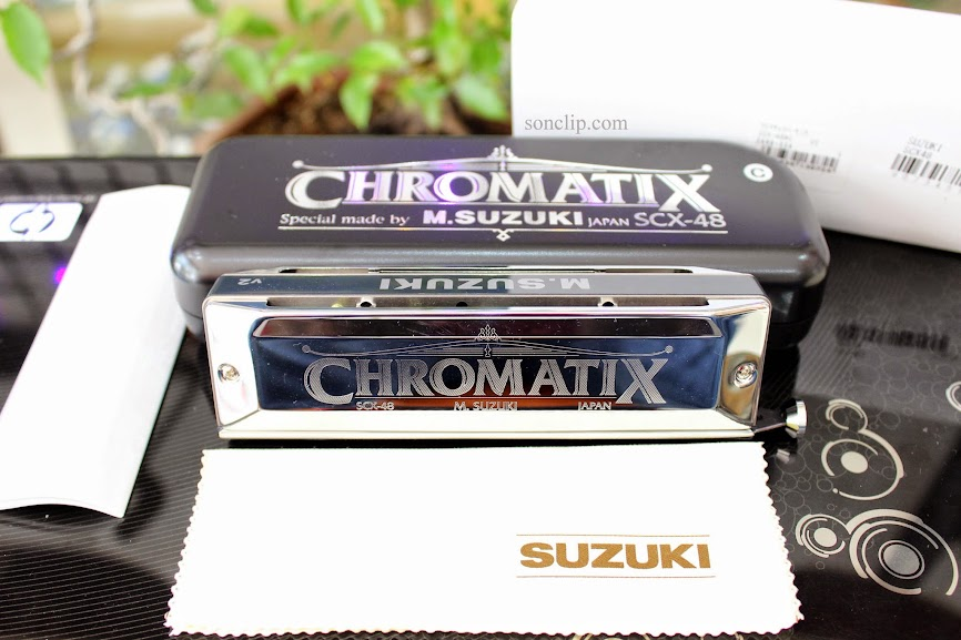 Kèn Harmonica - Suzuki SCX-48