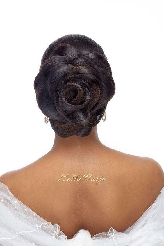 Hair:Wedding Hairstyles ForThe owners of dark skin 2017 15