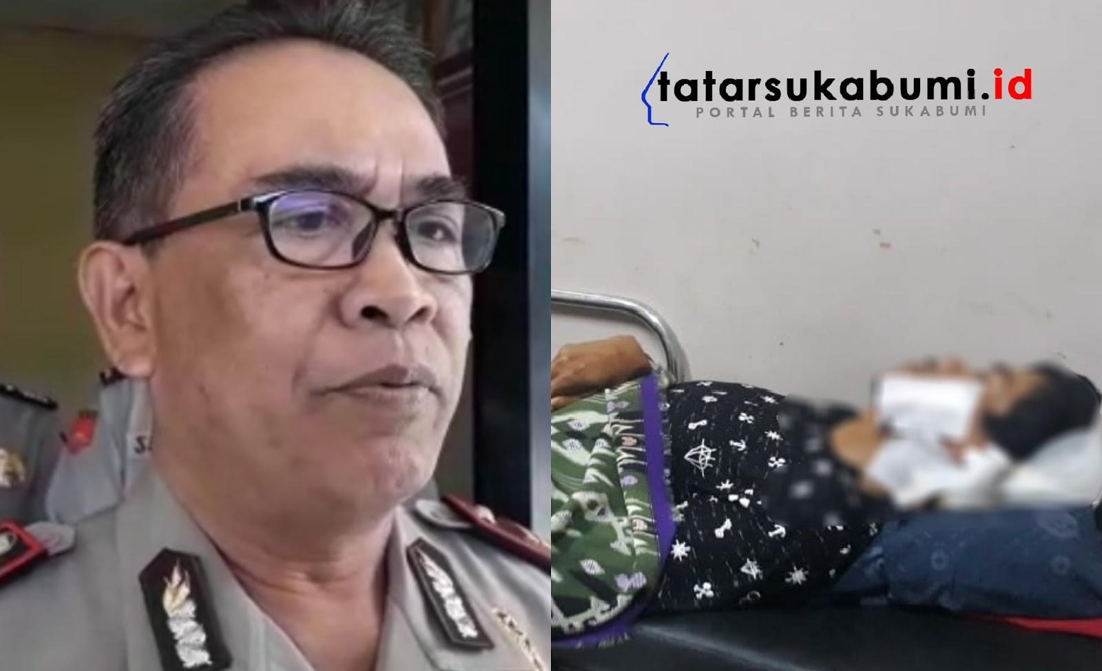 Polisi Dalami Motif Istri Kampak Suaminya di Sukabumi