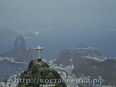 Рио де Жанейро, Rio de Janeiro, вертолет, КостаБланкаРФ, Сахарная голова, Pão de Açúcar, пляж Копакабана, Praia de Copacabana, Статуя Христа, Estátua do Cristo Redentor