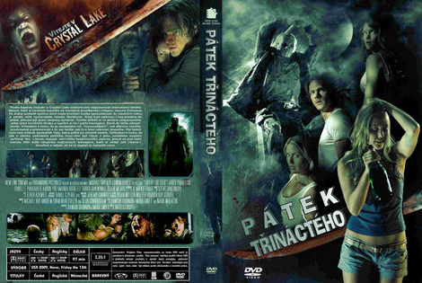 Friday The 13th 2009 Czech Dvd Cover Art Friday The 13th The