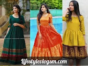 Amazing Ways to Use Your Old Silk Sarees For Dresses and Gown | Old Saree DIY