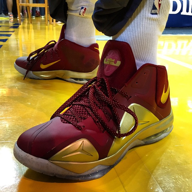 026898fb69269 ... cheapest jr smiths nba finals kicks are just in nike ambassador 7 cavs  pe 267ea 48df8