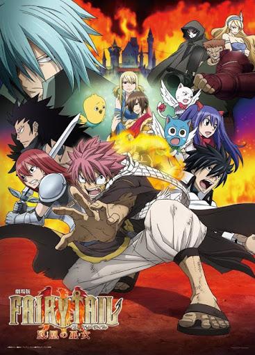 Fairy Tail The Movie – Houou No Miko ศึกอภินิหารคนทรงวิหคเพลิง [พากย์ไทย]
