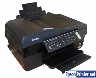 How to reset Epson BX300F printer