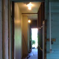 Hallway Before» From Back Door