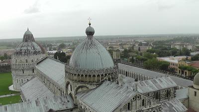Vista da Torre de Pisa