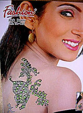 Crystal Glitter Shiny Temporary Tattoo Body Art