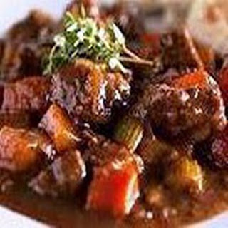 Crock Pot Burgundy Beef Stew.