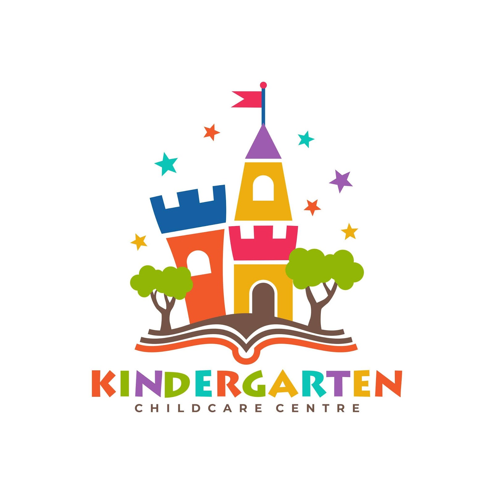 Kindergarten Logo Template Free Download Vector CDR, AI, EPS and PNG Formats