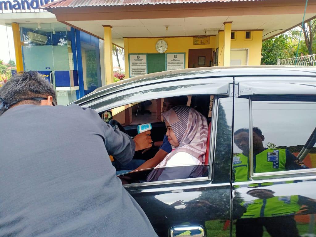 Kepala BBPP Batangkaluku Himbau Penerapan Pengecekan Suhu Tubuh Tamu dan Pegawai Cegah Virus Corona