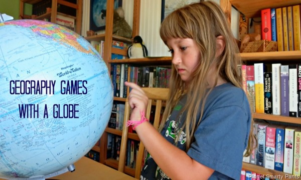 Geographt Games with a Globe