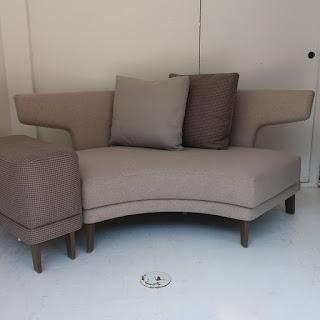 Ted Boerner Demilune Sofa