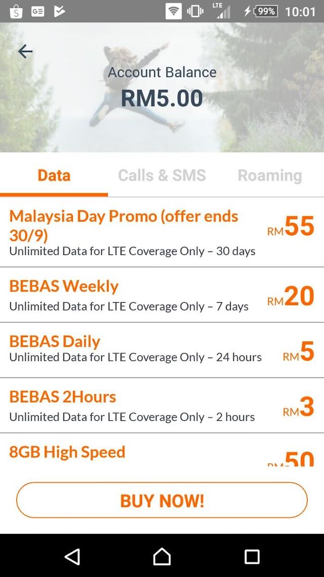 Memang Terbaik lah Langgan Unifi Mobile - RM55/SEBULAN Unlimited Data