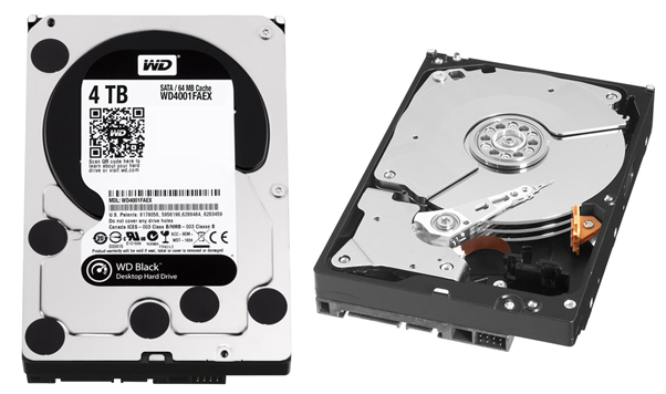 Hard Disk Drive (HDD) Konvensional