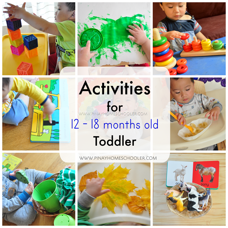 Activities for 12-18 Months Old Toddler