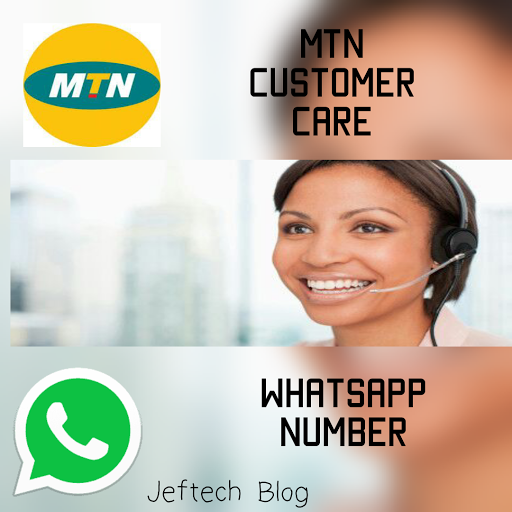 MTN customer care Whatsapp number.