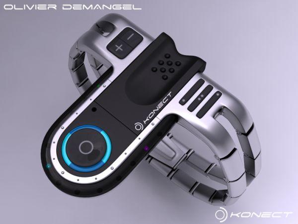 konect tokyo usb futuristic concept watch gadget site. Black Bedroom Furniture Sets. Home Design Ideas