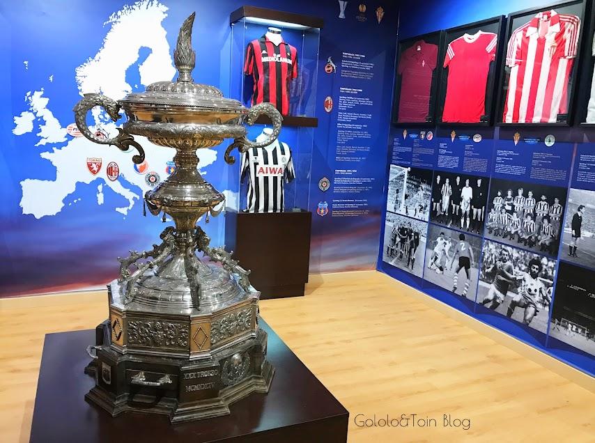 Trofeos del Sporting de Gijón