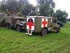 WC54 Dodge Ambulance and WC51 Dodge - Market Garden basecamp in Veghel. September 2014