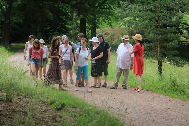 Kräuterwanderung zur Gartenlust Belvedere 2021