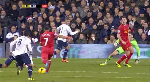 Suarez, Tottenham - Liverpool