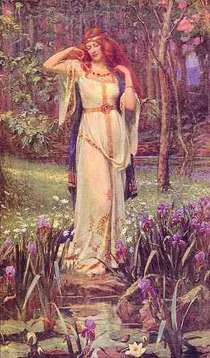 Freya And Brisingamen, Asatru Gods And Heroes