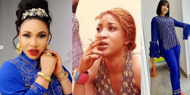 After Being Called Out For Smoking Marijuana, Actress Tonto Dikeh Opens Up On Eliminating Her Bad Habits