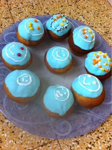 Cupcake sur vahiné