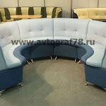 """Радиусный диван """"Мечта"""" сектор 270 гр. (Combi 006-009)"""