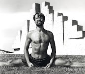 Wim Hof in his younger years. Training at Spaarnwoude, Netherlands.