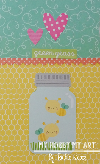 Clear Scraps, Clear acrylic Layout, Ruthie Lopez 5