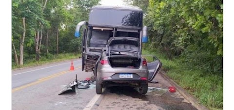 Três pessoas morrem em acidente envolvendo Ônibus que tinha destino ao Maranhão