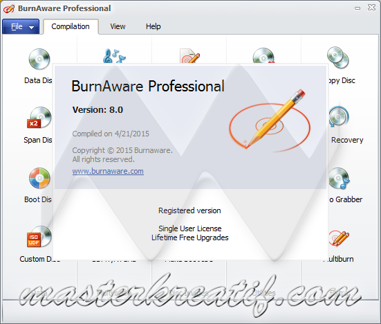 BurnAware Professional 8.0