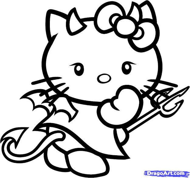Wele To Hello Kitty Coloring Pages  Here Youll Find Hundreds Of Coloring  Pages