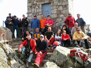 Grupo Candelariense de Montaña en Pico Cervero