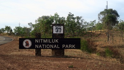 Nitmiluk Entrance