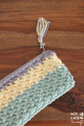 Not 2 late to craft: Estoig tricolor / Tricolor pouch