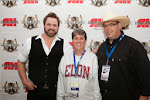 Randy Houser, President Steve Coble