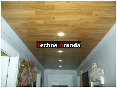Pagina web de empresa techos aluminio Madrid