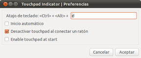 0067_Touchpad Indicator | Preferencias
