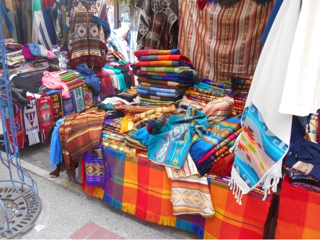 Textiles in South America