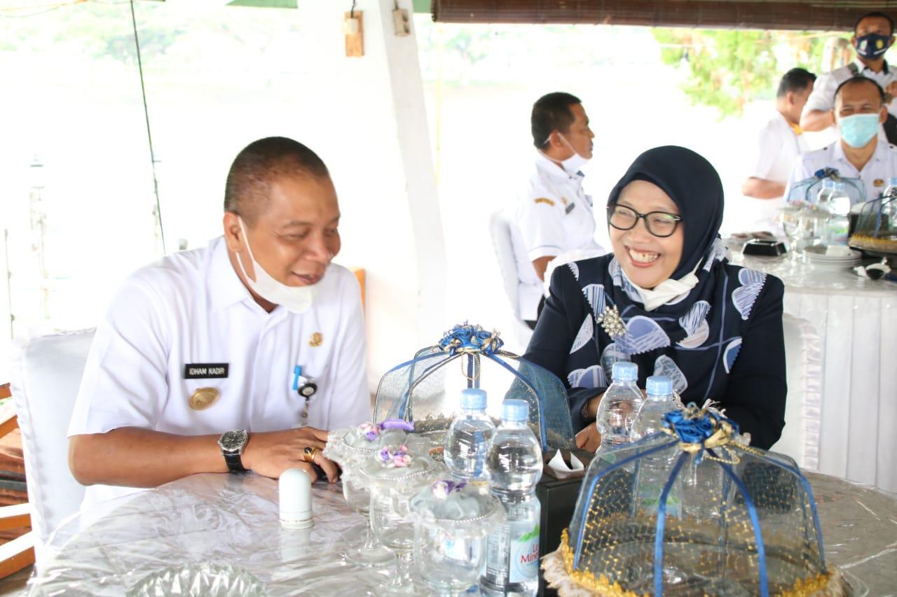 Staf Ahli Apkasi Bidang Pendidikan lakukan Kunjungan Kerja ke Kabupaten Soppeng
