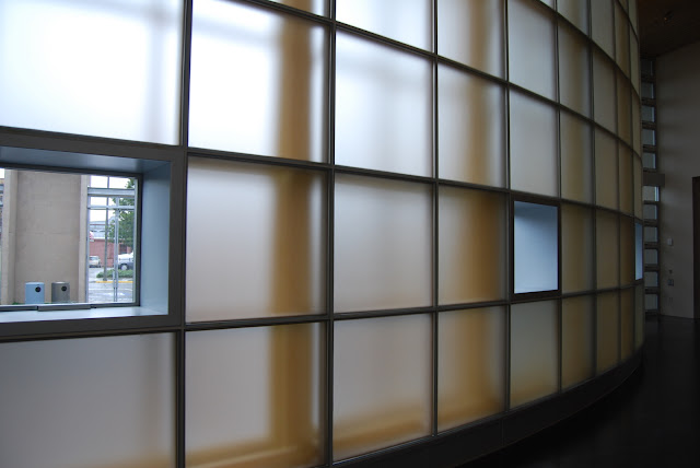 The curved glass wall at the Lightcatcher MuseumCredit: Bellingham Whatcom County Tourism