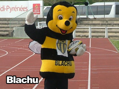 Mascotte rugby SCA