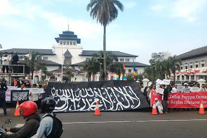 Allahu Akbar! Ulama dan Tokoh Jawa Barat Tolak Perppu Ormas Hari Ini