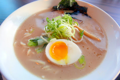 Marukin Ramen, Tonkotsu Shoyu is a creamy Carlton Farms pork bone based soup flavored with shoyu.