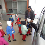 Field Trip To Car Showroom (Playgroup) 22.12.2015