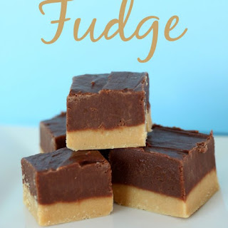 Double Decker Chocolate Peanut Butter Fudge.